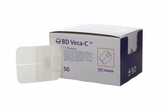 BD Veca-C IV film dressing 7cmx9cm (SINGLE)