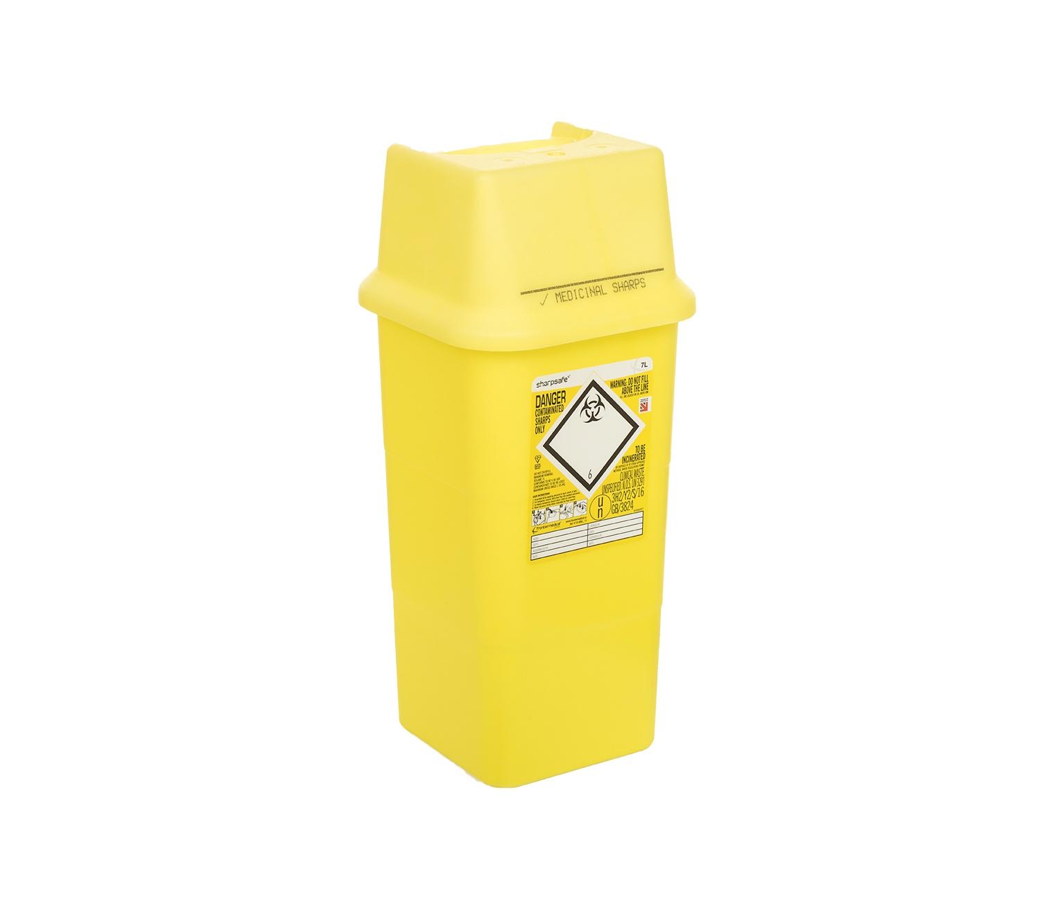 Sharpsguard 7 Litre Yellow
