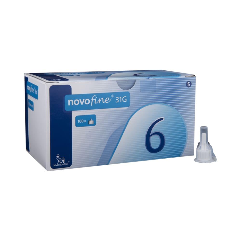 Novofine Needles 31g x 6mm x 100