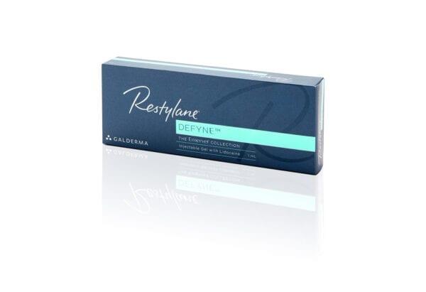 Restylane defyne + lidocaine 1 x 1ml